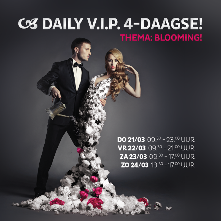 BLOOMING! – De nieuwe DAILY V.I.P. 4-DAAGSE