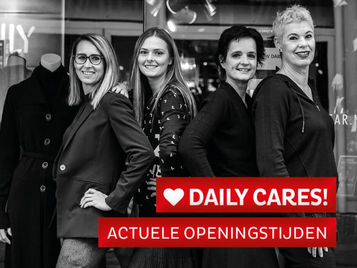 Daily cares ❤ actuele openingtijden