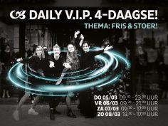 Wij staan weer voor u klaar tijdens de nieuwe Daily VIP4Daagse op 5,6,7 en 8 maart 2020!